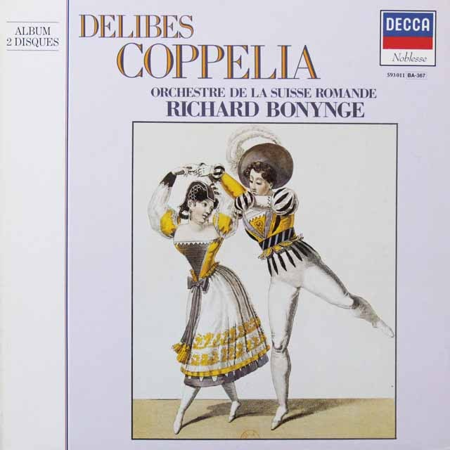ボニングのドリーブ/「コッペリア」 仏DECCA   2716 LP レコード