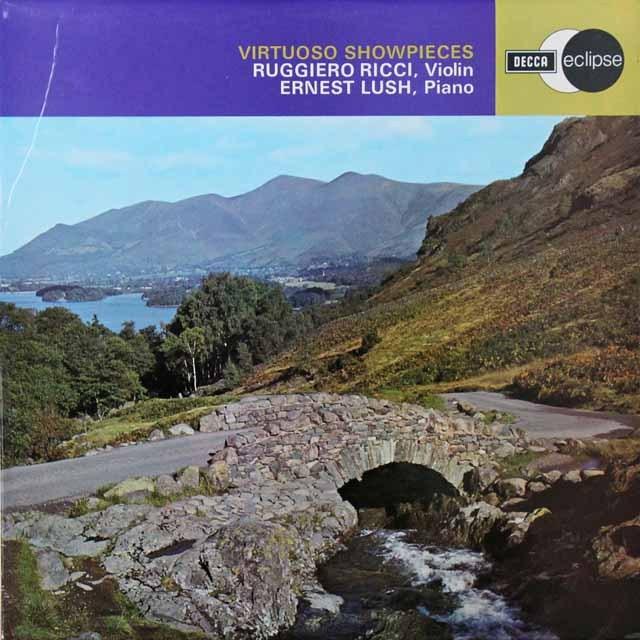 リッチ&ラッシュのヴィエニャフスキ/スケツルォ・タランテッラほか 英DECCA 3291 LP レコード