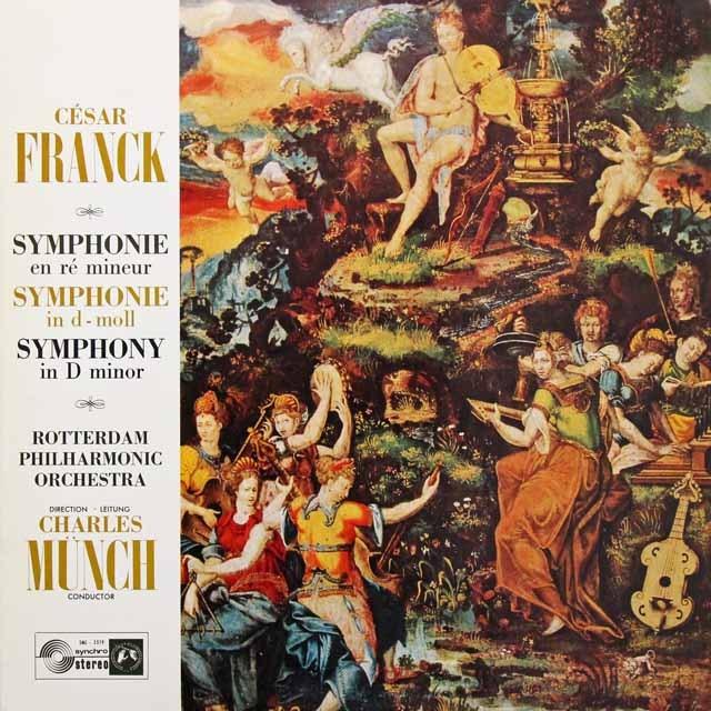 ミュンシュのフランク/交響曲ニ短調 仏Concert Hall 3291 LP レコード