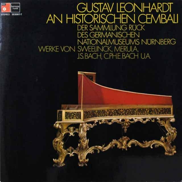レオンハルトのチェンバロ曲集  独HM   2716 LP レコード