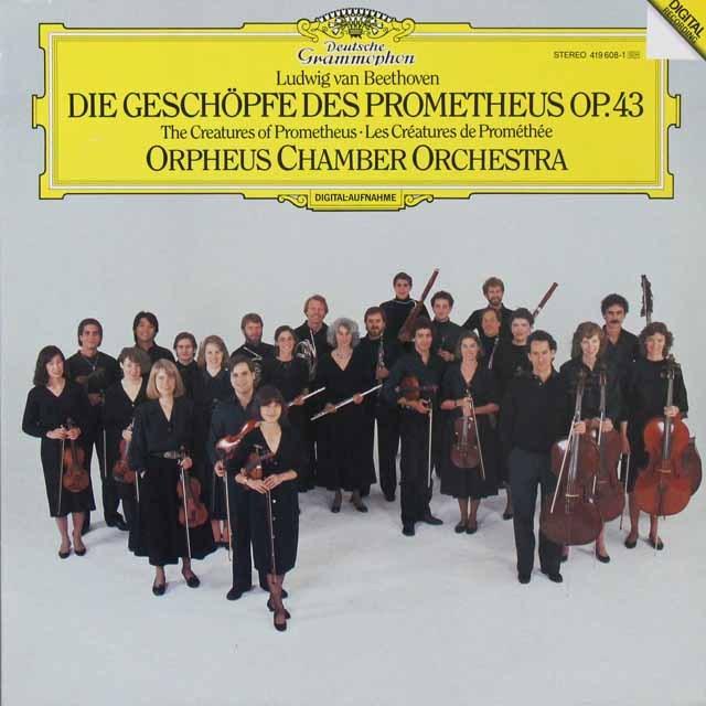 オルフェウス室内管弦楽団のベートーヴェン/「プロメテウスの創造物」 独DGG 2716 LP レコード