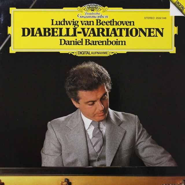 バレンボイムのベートーヴェン/ディアベリ変奏曲 独DGG 3291 LP レコード