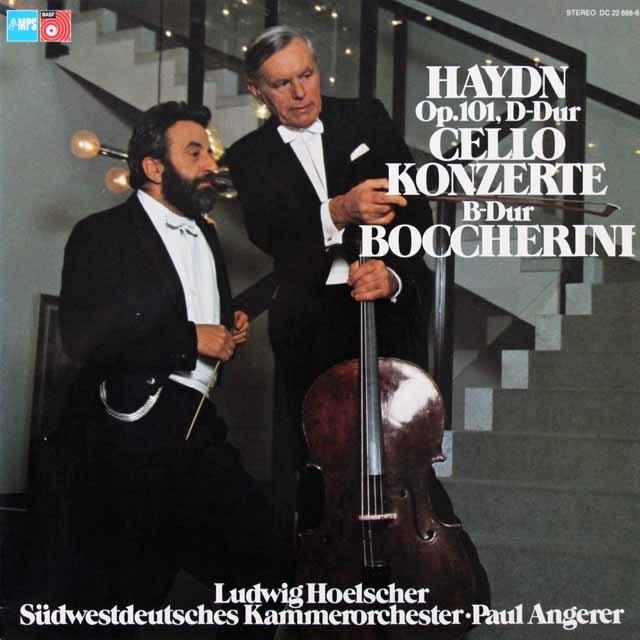 ヘルシャーのハイドン/チェロ協奏曲第2番ほか 独MPS 3291 LP レコード