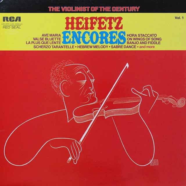 ハイフェッツのシューベルト/アヴェ・マリア 英RCA 2717 LP レコード