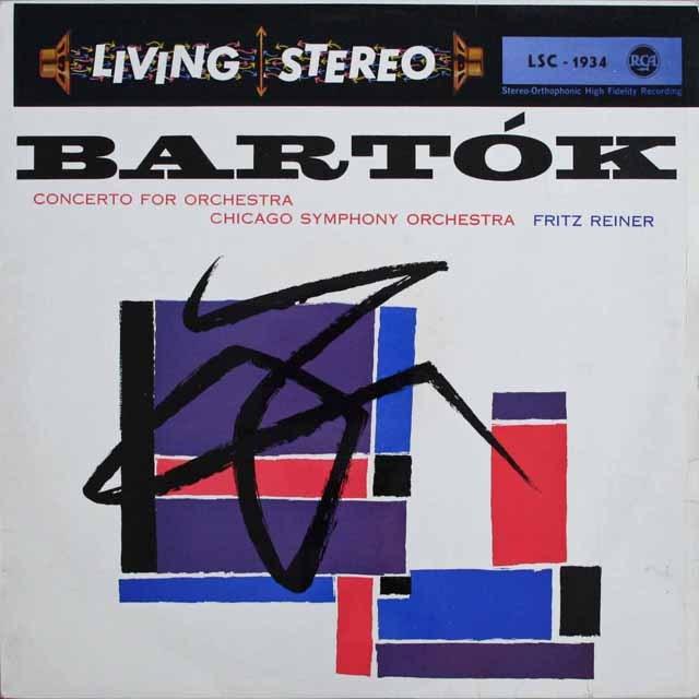 ライナーのバルトーク/管弦楽のための協奏曲 独RCA   2524 LP レコード