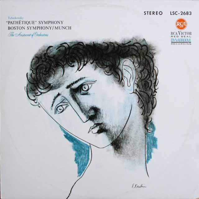 ミュンシュのチャイコフスキー/交響曲第6番「悲愴」 独RCA 3301 LP レコード