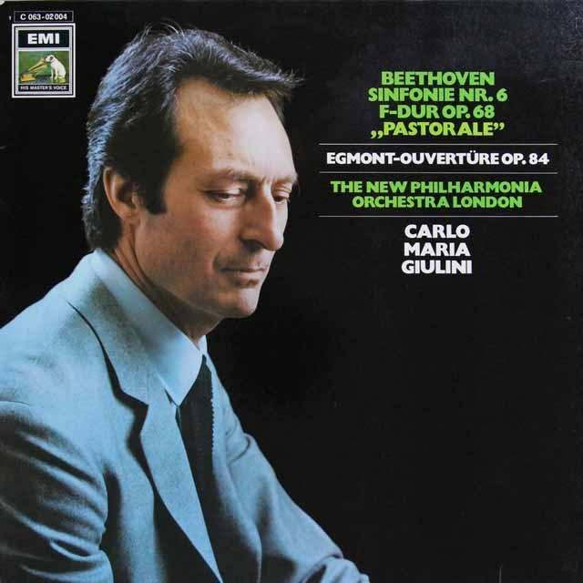 ジュリーニのベートーヴェン/交響曲第6番「田園」ほか 独EMI 3291 LP レコード