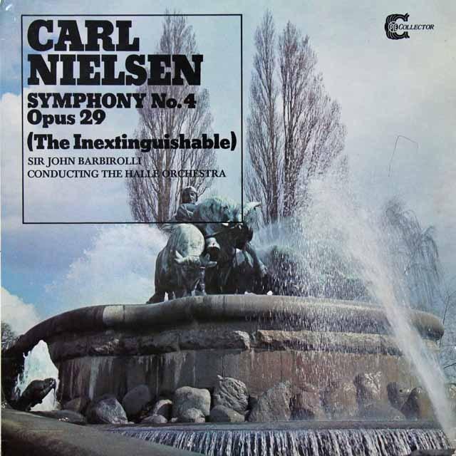 バルビローリのニールセン/交響曲第4番「不滅」 英PYE 3291 LP レコード