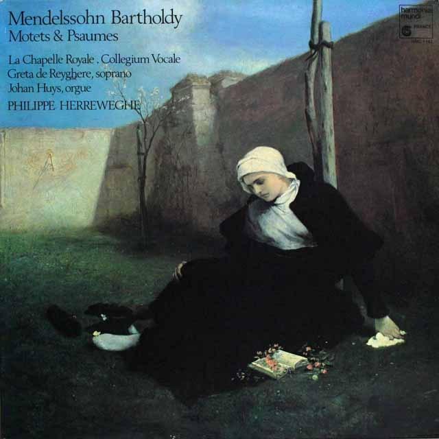 ヘレヴェッへのメンデルスゾーン/3つの詩篇ほか 仏HM 3304 LP レコード