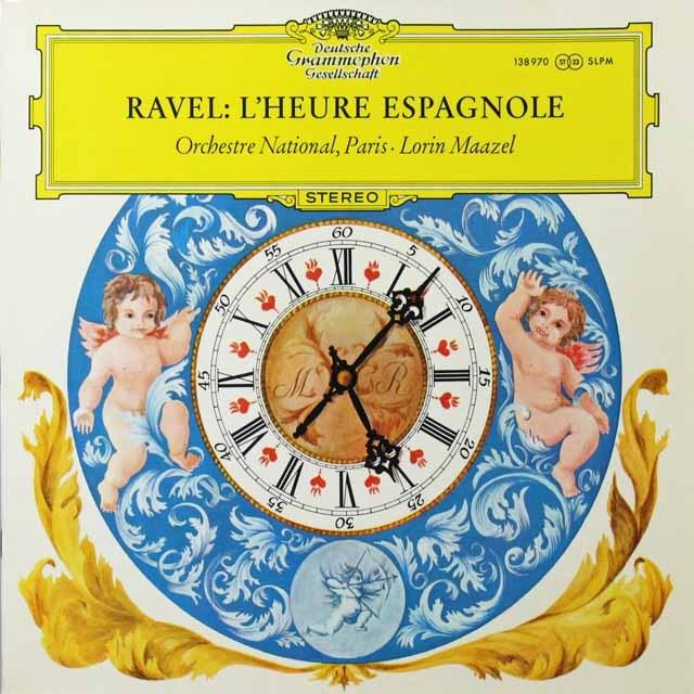 マゼールのラヴェル/歌劇「スペインの時」  独DGG 3291 LP レコード