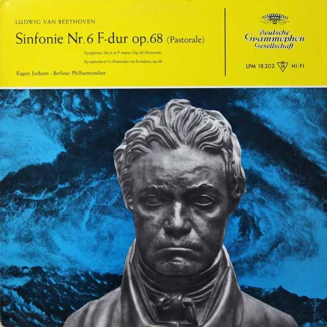 ヨッフムのベートーヴェン/交響曲第6番「田園」 独DGG 3291 LP レコード