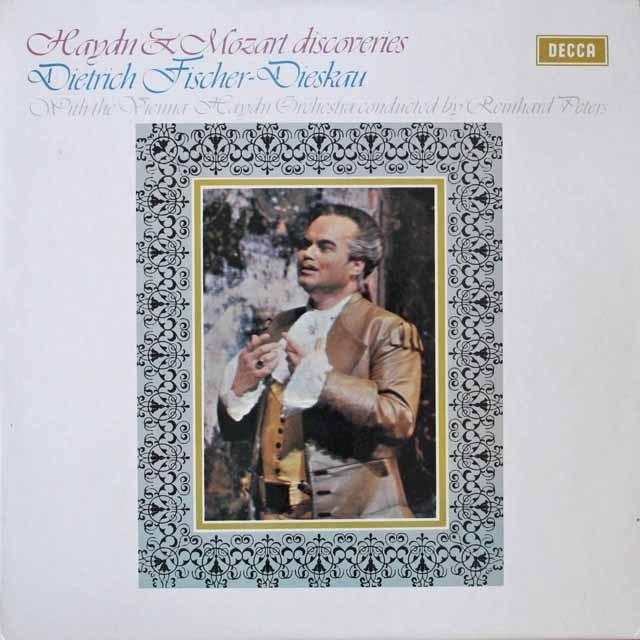 ディースカウのハイドン&モーツァルト/「珍しいアリア集」 英DECCA 3306 LP レコード