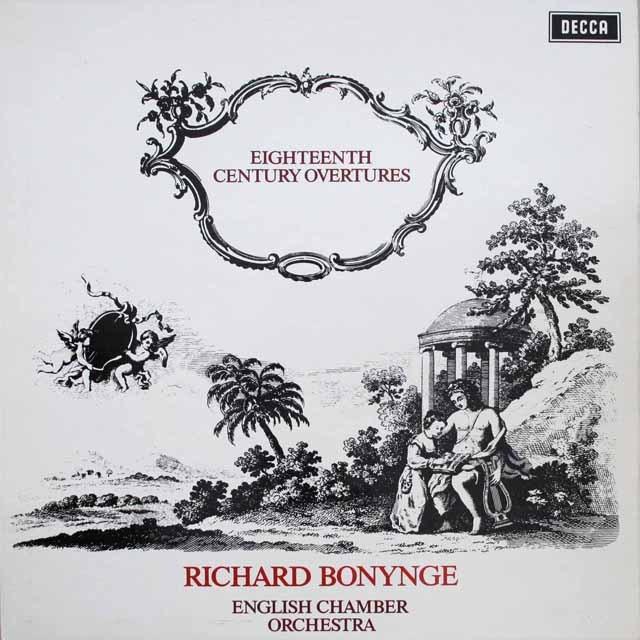 ボニングの「18世紀オペラ序曲集」 英DECCA 3306 LP レコード