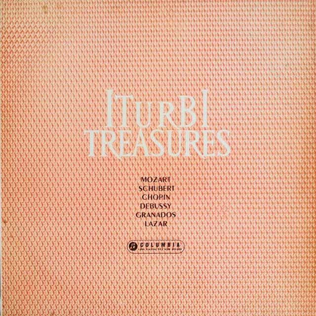 イトゥルビ・リサイタル  英Columbia   3306 LP レコード