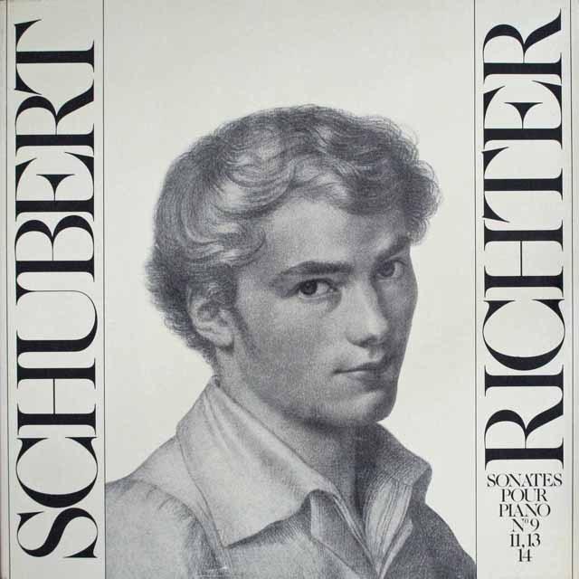 リヒテルのシューベルト/ピアノソナタ第9番ほか 仏LE CHANT DU MONDE 3305 LP レコード