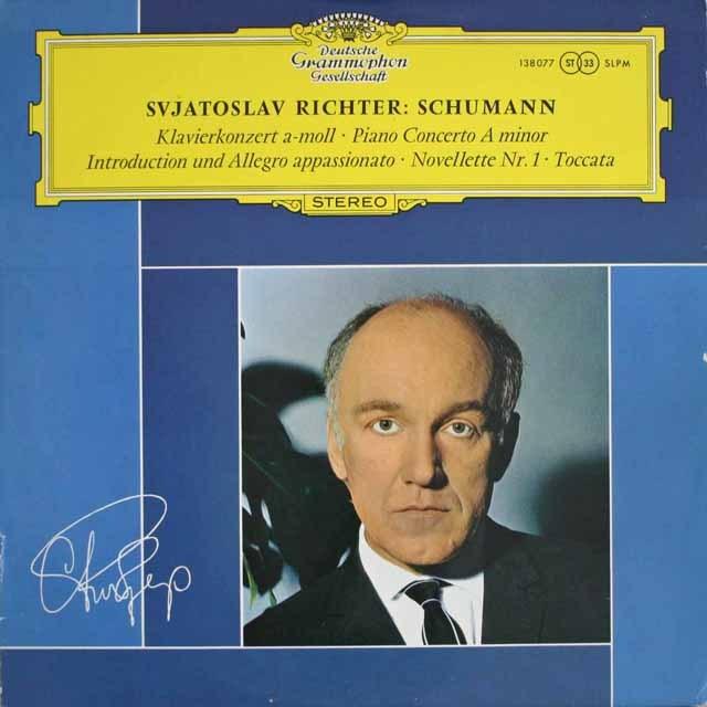 リヒテルのシューマン/ピアノ協奏曲ほか 独DGG 3305 LP レコード