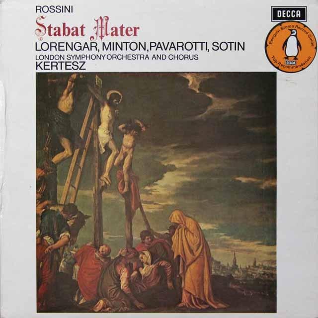 【オリジナル盤】 ケルテスのロッシーニ/「スターバト・マーテル」 英DECCA 3290 LP レコード