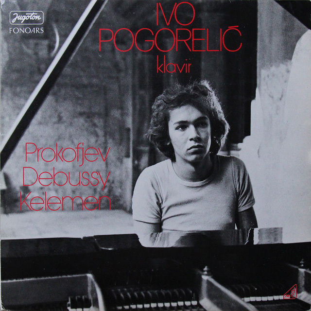 ポゴレリチのプロコフィエフ/ピアノソナタ第6番 ユーゴスラヴィアJugoton 2723 LP レコード