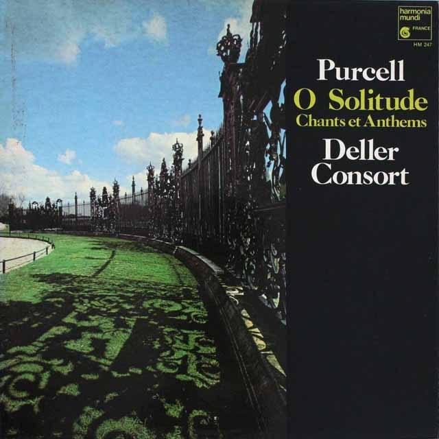 デラーのパーセル/「おお、孤独よ」  仏HM   3305 LP レコード