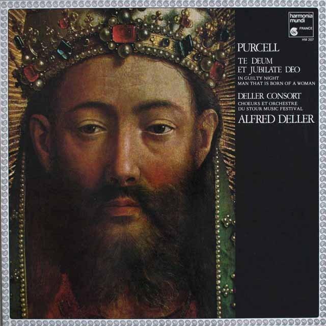デラーのパーセル/テ・デウムほか 仏HM 3305 LP レコード
