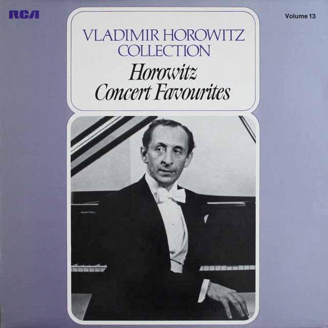 ホロヴィッツコレクション vol.13 「ピアノ小品集」 独RCA 3307 LP レコード