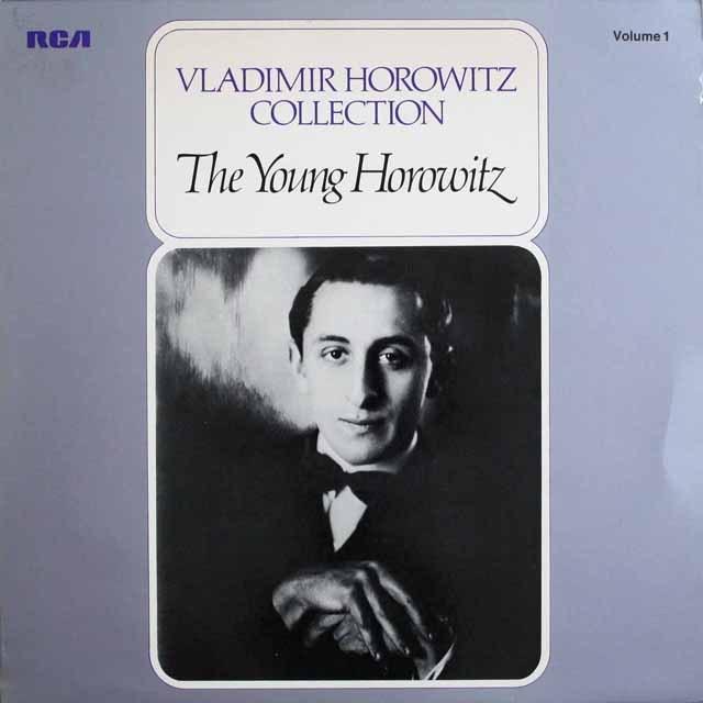 ホロヴィッツコレクション vol.1 若きホロヴィッツ 独RCA 3307 LP レコード