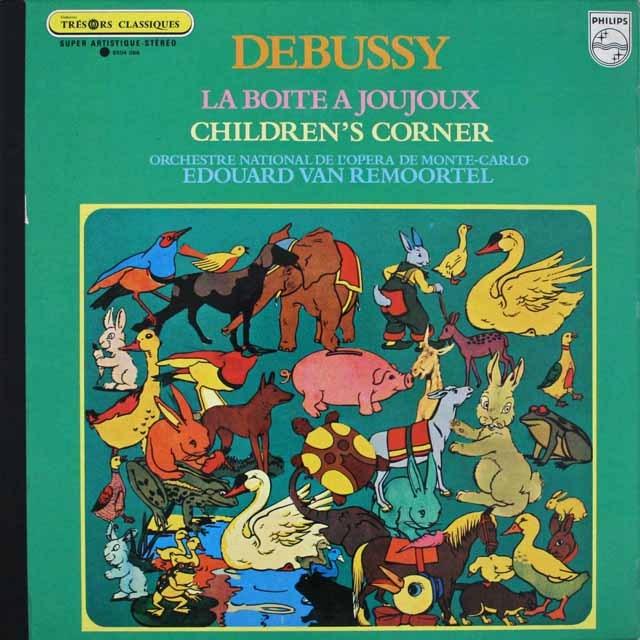 ルモーテルのドビュッシー/「おもちゃ箱」 仏PHILIPS 3307 LP レコード