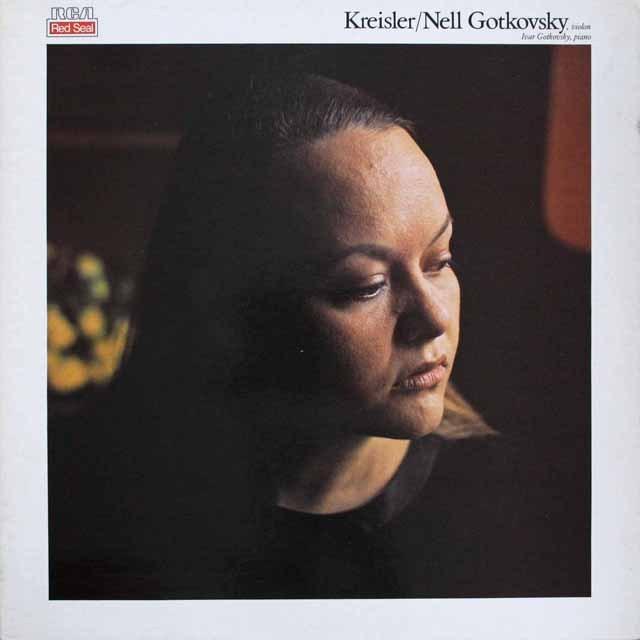 ゴトコフスキー兄妹のクライスラー/ヴァイオリン小品集 仏RCA 3307 LP レコード