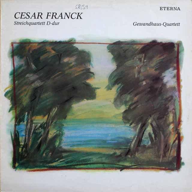 ゲヴァントハウス四重奏団のフランク/弦楽四重奏曲  独ETERNA   2530 LP レコード
