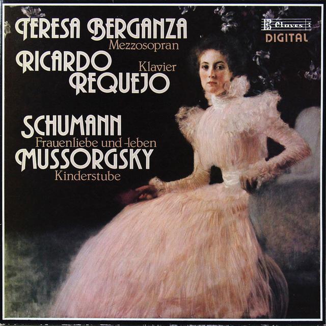 ベルガンサ&レケホのシューマン/「女の愛と生涯」ほか スイスclaves 2725 LP レコード