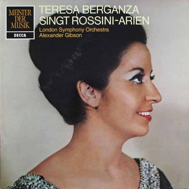 ベルガンサのロッシーニ/アリア集 独DECCA   2530 LP レコード