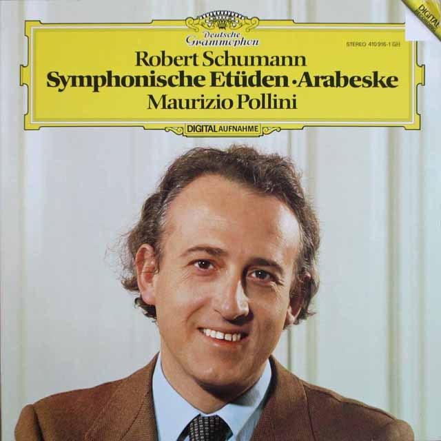 ポリーニのシューマン/「交響的練習曲」ほか 独DGG 3306 LP レコード