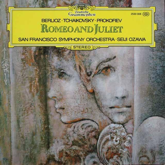 小澤の「ロミオとジュリエット」の音楽 独DGG 3306 LP レコード