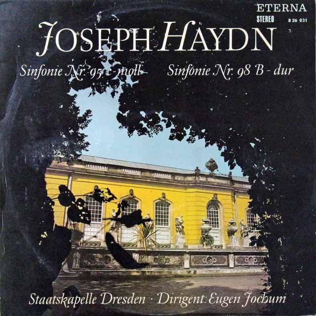 ヨッフムのハイドン/交響曲第95&98番 独ETERNA 3298 LP レコード