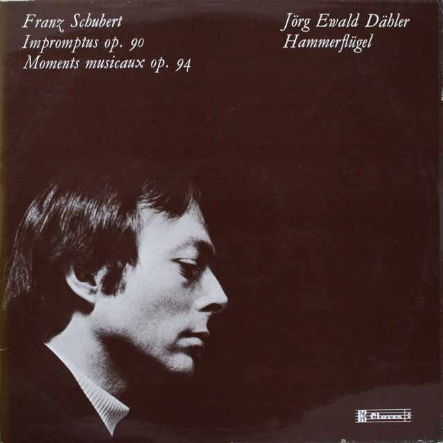 デーラーのシューベルト/即興曲集 スイスClaves 3308 LP レコード