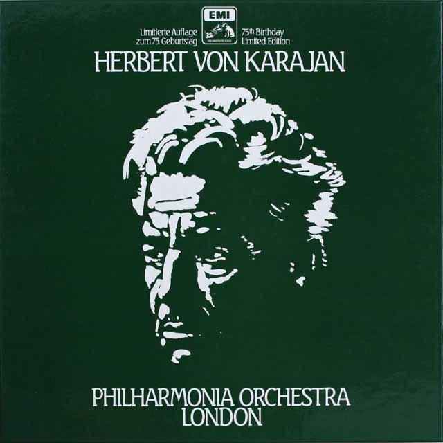 カラヤン&フィルハーモニア管弦楽団の芸術 独EMI 3308 LP レコード