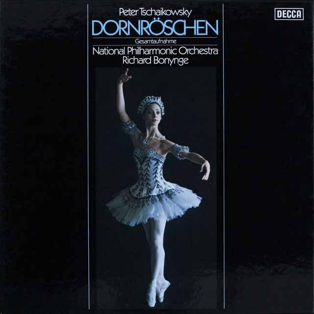 ボニングの「眠れる森の美女」 独DECCA 3308 LP レコード