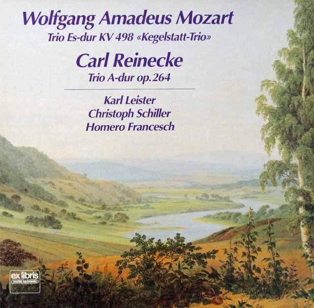 ライスター、シラー&フランチェシュのモーツァルト/「ケーゲルシュタット・トリオ」ほか スイスexlibris 2811 LP レコード
