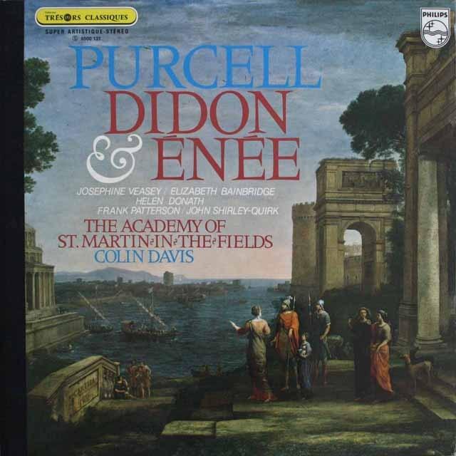 デイヴィスのパーセル/「ディドとエネアス」 仏PHILIPS 3308 LP レコード
