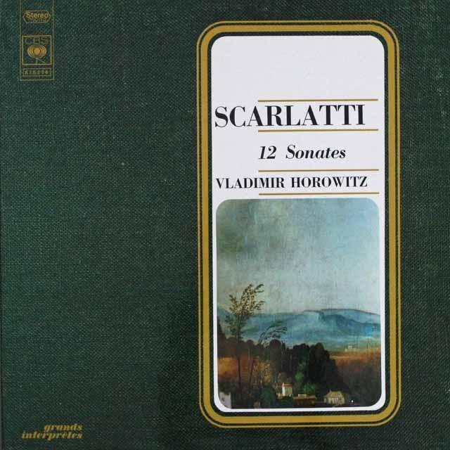 ホロヴィッツのスカルラッティ/ソナタ集 仏CBS    2537 LP レコード