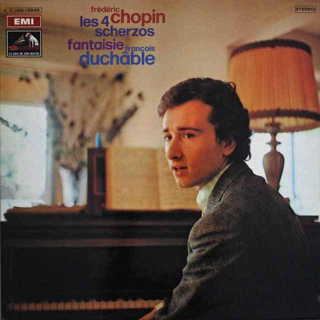 デュシャーブルのショパン/「スケルツォ」集 仏EMI(VSM) 3309 LP レコード