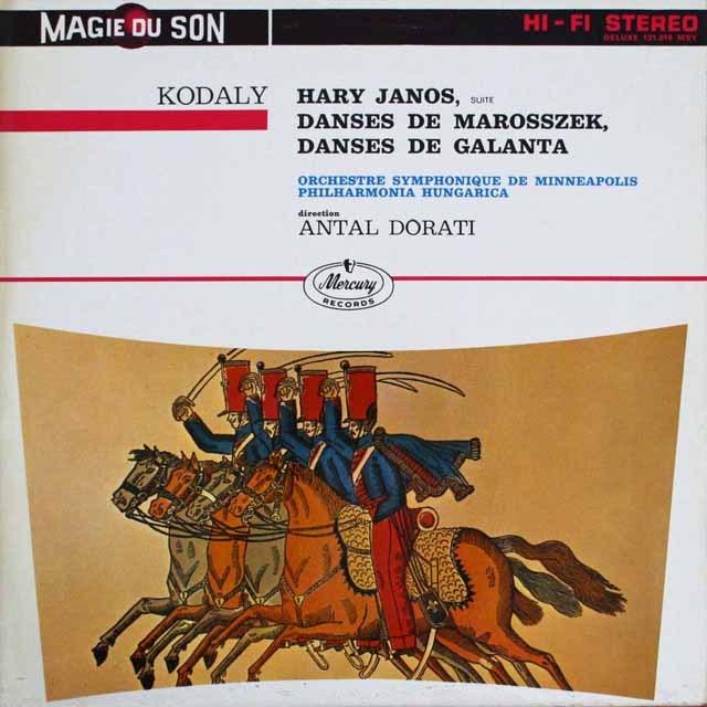 ドラティのコダーイ/「ハーリ・ヤーノシュ」ほか 仏MERCURY 3309 LP レコード