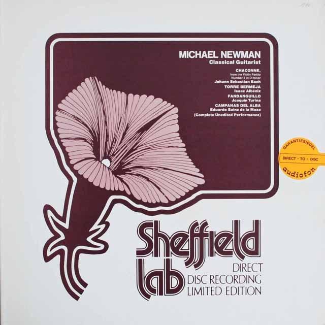 ニューマンのバッハ/「シャコンヌ」ほか 独SHEFFIELD 3309 LP レコード