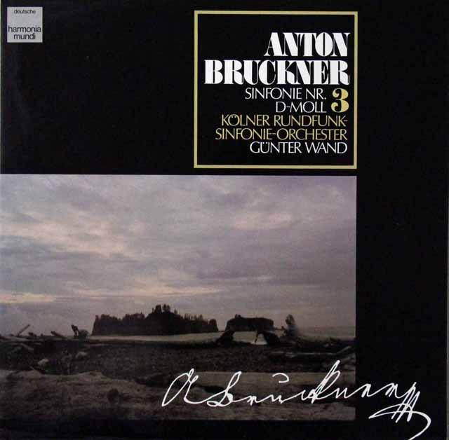ヴァントのブルックナー/交響曲第3番 独HM 2813 LP レコード