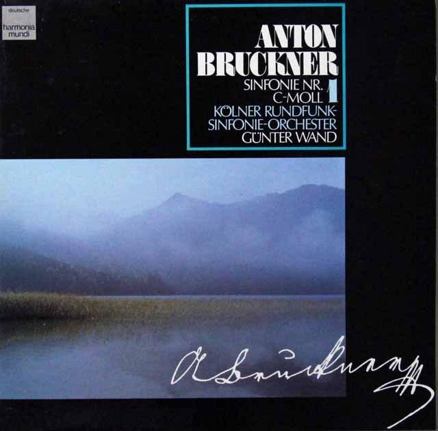 ヴァントのブルックナー/交響曲第1番 独HM 2813 LP レコード