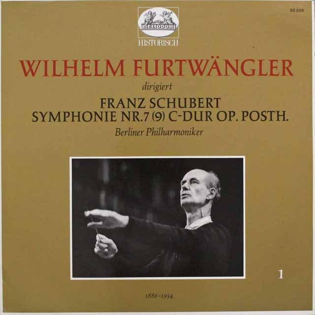 フルトヴェングラーのシューベルト/交響曲第9番「グレート」 独HELIODOR 3310 LP レコード