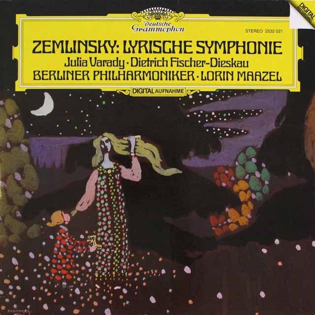 マゼールのツェムリンスキー/叙情交響曲 独DGG 3310 LP レコード