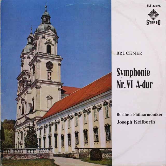 カイルベルトのブルックナー/交響曲第6番  独TELEFUNKEN 3310 LP レコード
