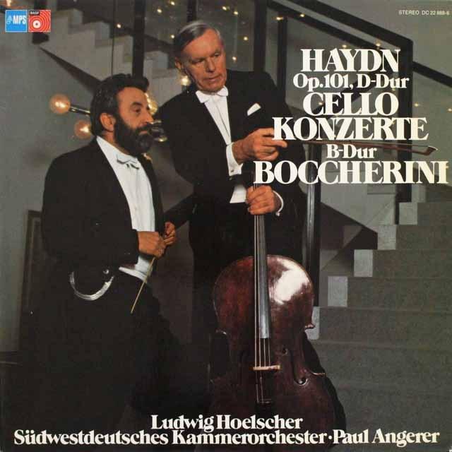 ヘルシャーのチェロ協奏曲集  独MPS 3310 LP レコード