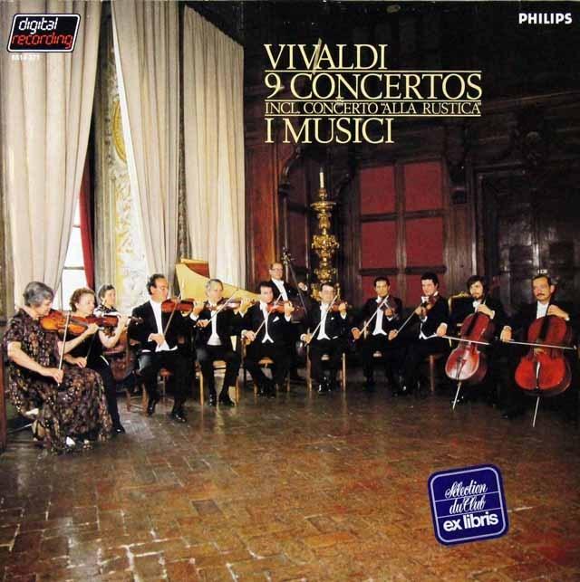イ・ムジチのヴィヴァルディ/9つの協奏曲集 蘭PHILIPS 3298 LP レコード